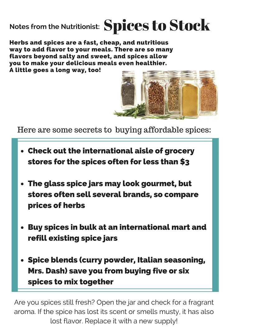 Manna Food Center | Kitchen Confidential: Spices on the Cheap