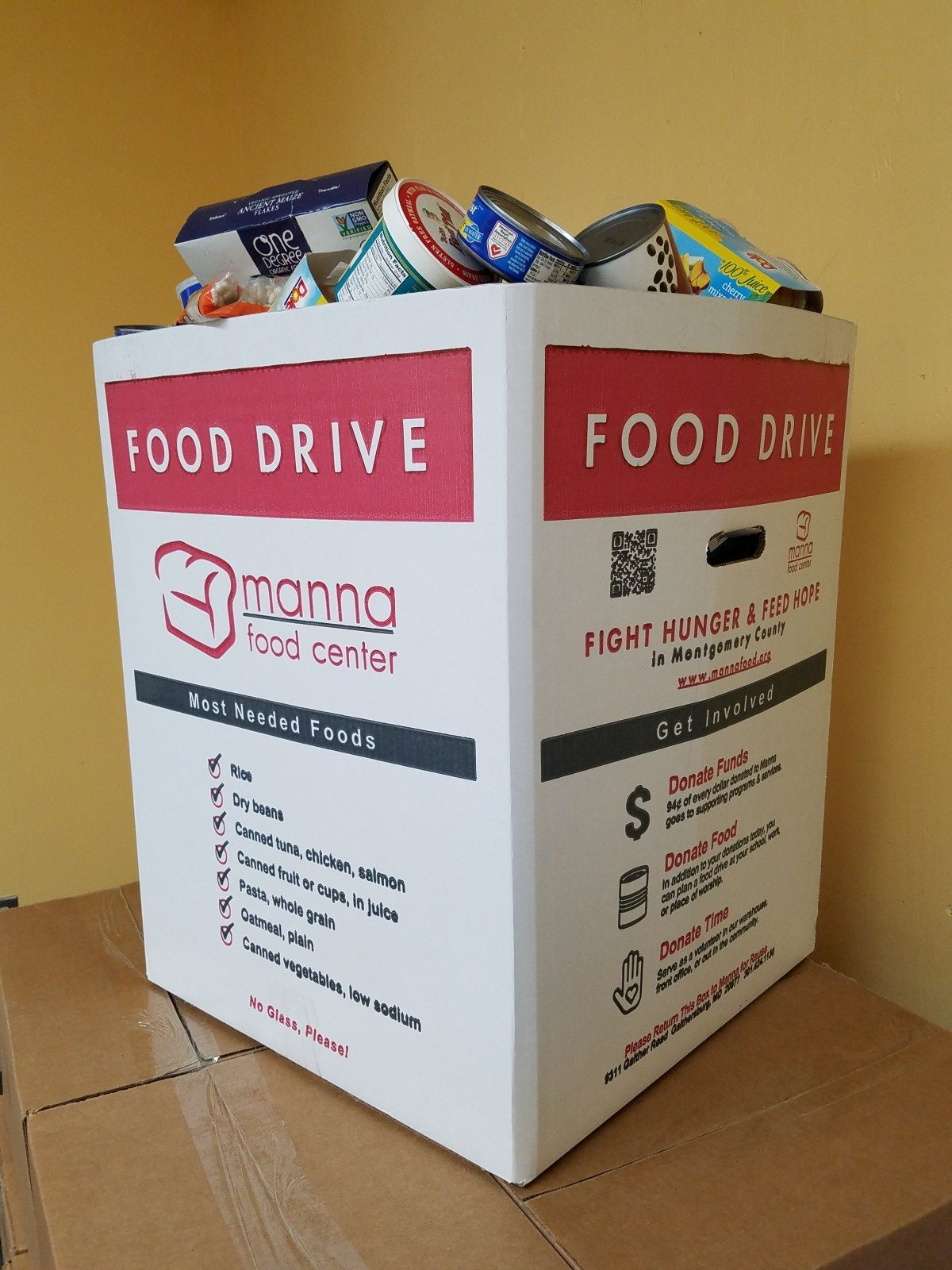 How to Donate Food recommend