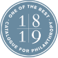 Catalogue Class of 2018-19 - One of the Best - Catalogue for Philanthropy