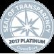 Seal of Transparency 2017 Platinum GuideStar